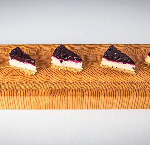 Larch Wood's modern take on the traditional sushi board - Ki Collection.