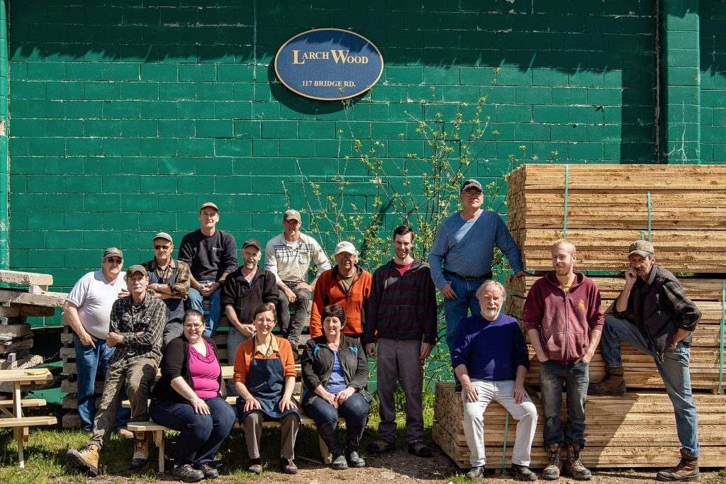 Larch Wood Crew Spring 2018