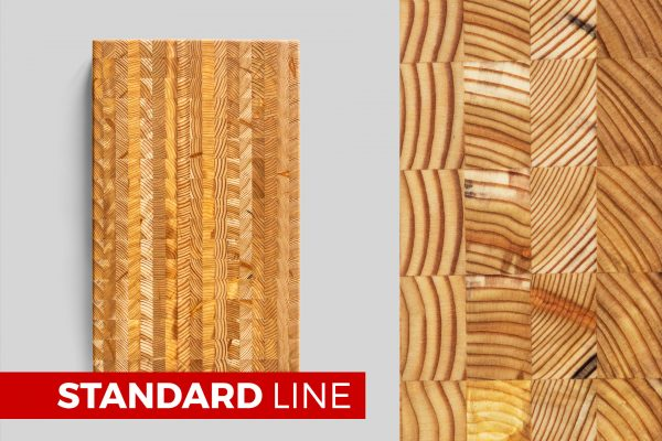 Standard Line - Large Cutting Board - End Grain Construction
