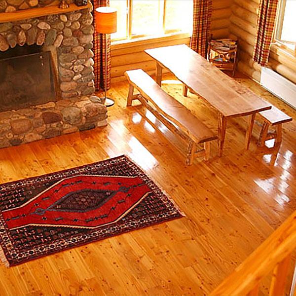 Custom Flooring - Larch Wood Canada